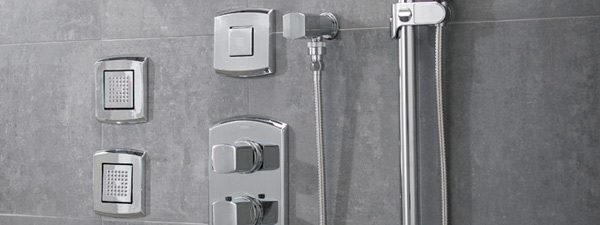 The Soirée® body shower system by Toto